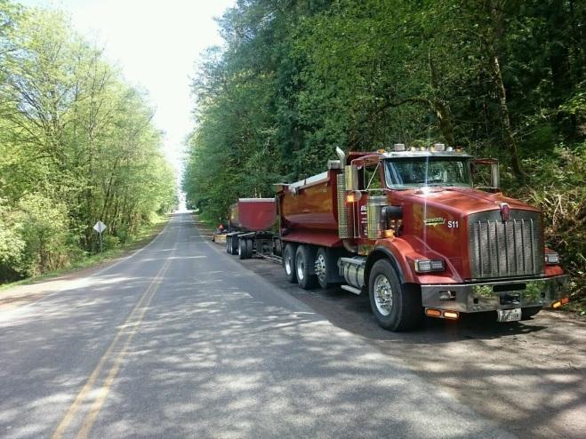 Ready to haul asphalt.